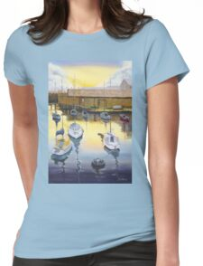 Port Adelaide Sailiing Club Yatchs  Mac Lawries Boatshed 2004  Womens Fitted T-Shirt