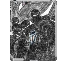 Fear in Ink and Watercolor iPad Case/Skin