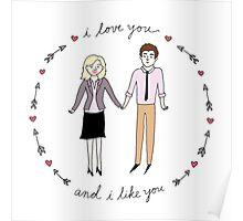 Leslie & Ben Poster