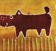 Brown dog by maystra