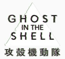 Ghost In The Shell Glitch Kids Tee