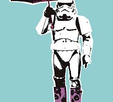 Rainy Day Stormtrooper  by theashman