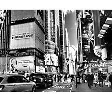 42nd St. - New York City Photographic Print