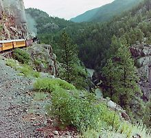 Durango to Silverton Narrow Gauge Railroad, Colorado, USA by Adrian Paul