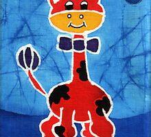 Red giraffe by maystra
