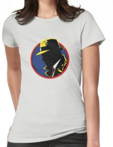 Dick Tracy! Womens Fitted T-Shirt
