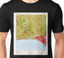 USGS TOPO Map California CA Topanga 300894 1952 24000 geo Unisex T-Shirt