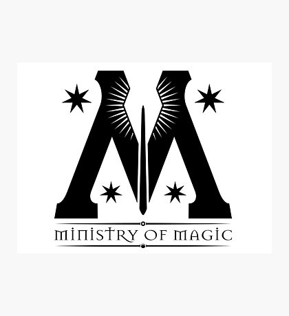 Ministry of Magic Photographic Print