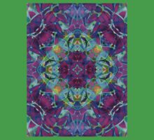 kaleidoscope Floral Abstract G16 Baby Tee