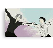Yuri on Ice - Victor and Yuri Canvas Print