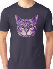 Cat Head (Color Version) Unisex T-Shirt