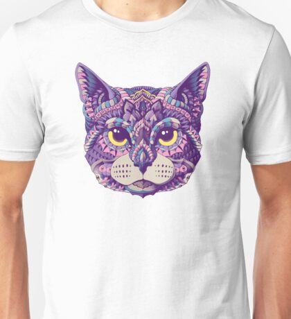 Cat Head (Color Version) Unisex T-Shirt