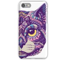 Cat Head (Color Version) iPhone Case/Skin