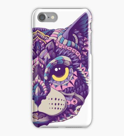 Cat Head (Color Version) iPhone Case/Skin