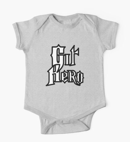 Git Hero - Parody Design for Version Control Heros One Piece - Short Sleeve