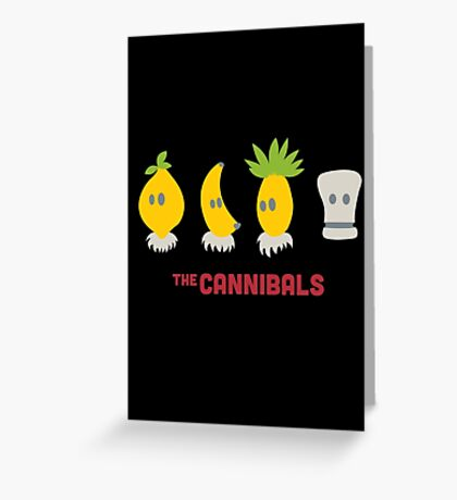 The Cannibals Greeting Card