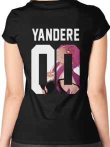 Yandere Jersey Women's Fitted Scoop T-Shirt