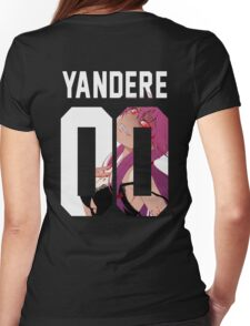 Yandere Jersey Womens Fitted T-Shirt