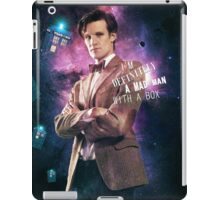 I m definitely a mad man with a box iPad Case/Skin
