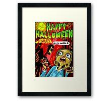 Halloween Party Framed Print