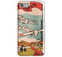 Uncommon Russian propaganda poster iPhone Case/Skin