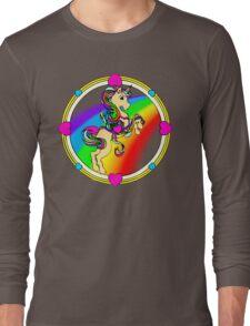 Unicorns are Awesome... Fact! Long Sleeve T-Shirt
