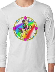 Unicorns are Awesome... Fact! Long Sleeve T-Shirt