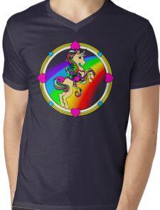 Unicorns are Awesome... Fact! Mens V-Neck T-Shirt
