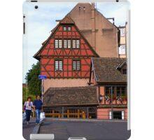 Strasbourg, Ponts Couverts Street, France iPad Case/Skin