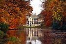 Groeneveld Castle in Autumn Colors by AnnieSnel