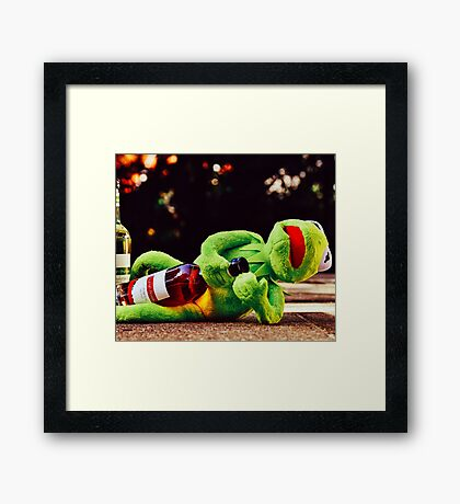 Don't Drink and Drive 2 Framed Print