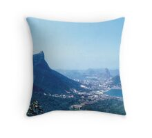 1950s Rio — The Vistas Throw Pillow