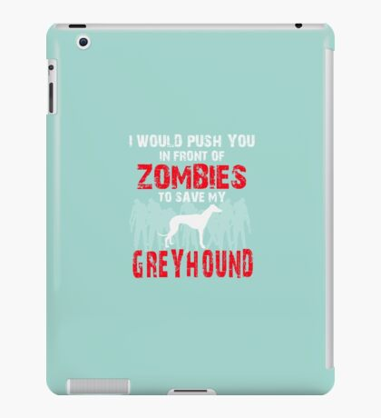 Front Of Zombies Greyhound iPad Case/Skin