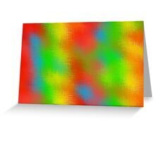 colorful painting abstract background  Greeting Card