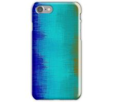 green blue pink purple and brown painting  iPhone Case/Skin