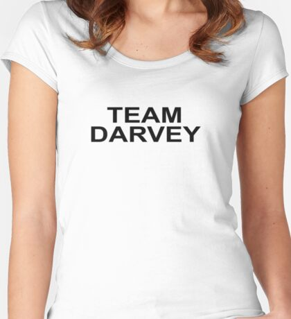 SUITS SEASON 6 - TEAM DARVEY Women's Fitted Scoop T-Shirt