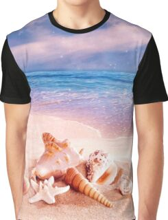 On the beach Graphic T-Shirt