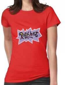 Ratchet - Rugrats Parody Womens Fitted T-Shirt