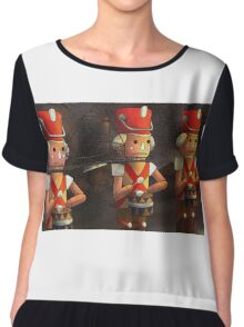 The Marching Soldiers Chiffon Top