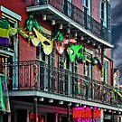 Bourbon Street Facade by Yukondick