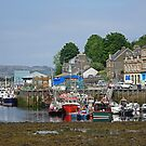 Tarbert Harbour by Kat Simmons