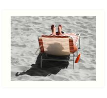 Catching Selective Rays Art Print