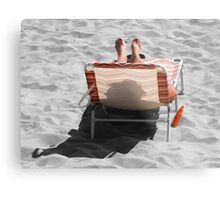 Catching Selective Rays Metal Print
