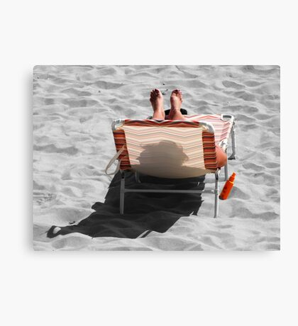 Catching Selective Rays Canvas Print