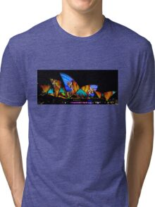 Vivid Sydney Opera House Tri-blend T-Shirt