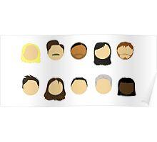 Parks & Rec Cast Poster