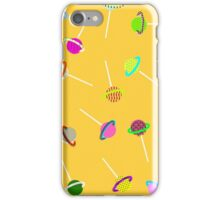 lollipop lost in space pattern iPhone Case/Skin
