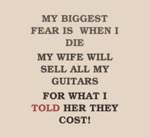 Guitar Players Worst Fear by PartisanArtisan