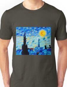 Modern Starry Night Unisex T-Shirt