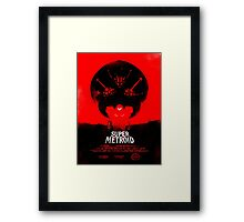 Super Metroid Framed Print